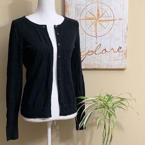 Old Navy Black Cardigan Sweater